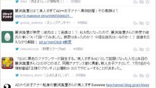 笹川友里 異例のアナウンサーへ転進 TBSに異色のアナウンサーが誕生...
