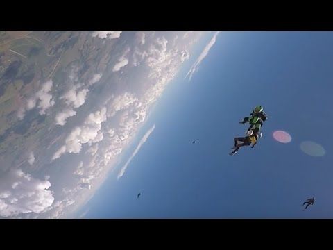 Friday Freakout: Skydive Collision, Hit In The Head From Behind