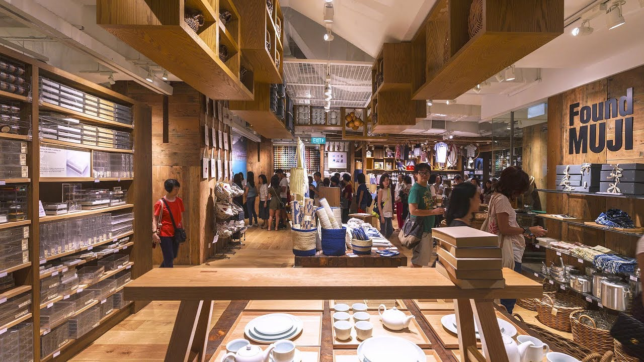 Muji Flagship Store At Plaza Singapura Youtube
