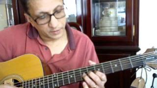 Sanyasini Nin Punyasramathil njan _Guitar pieces_ tutorial