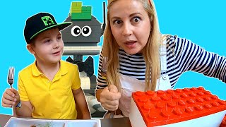 Timko visits robotic restaurant for kids at Lego House