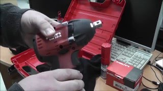 Ударный аккумуляторный гайковерт Hilti SIW 22-A. Небольшой обзор.