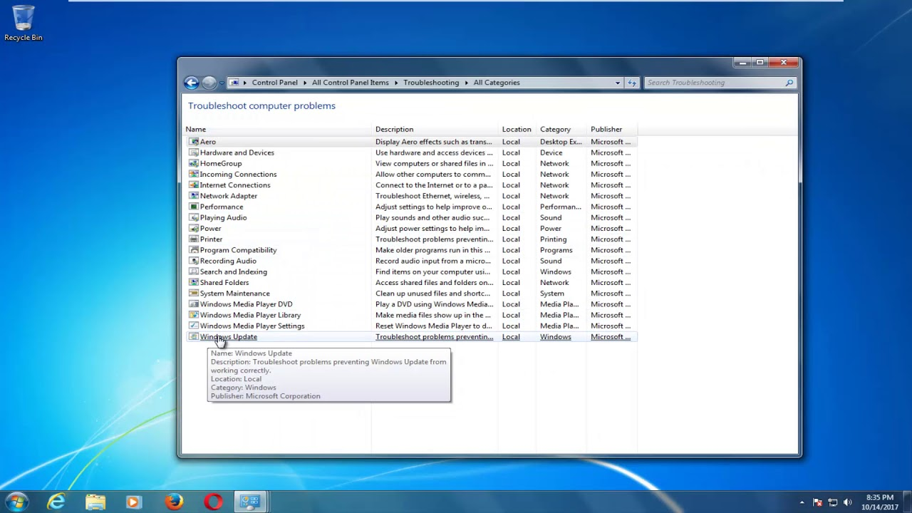 How To Troubleshoot Windows Update Not Working On Windows 10/8/7