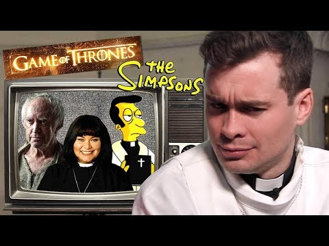 Real British Priest reacts to TV Priests!?