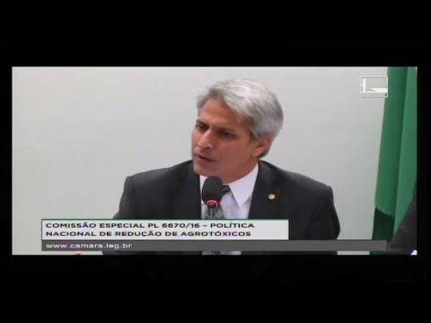 PL 6670/16 - POLÍTICA NACIONAL REDUÇÃO AGROTÓXICOS - Reunião Deliberativa - 05/06/2018 - 15:37
