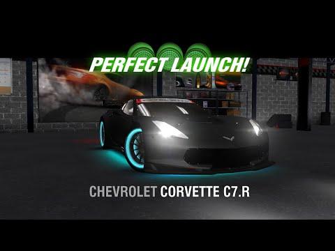 Racing Rivals Chevrolet Corvette C7.R Perfect Launch Tutorial