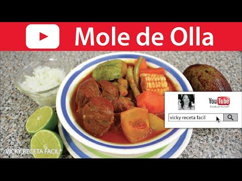 MOLE DE OLLA | Vicky Receta Facil