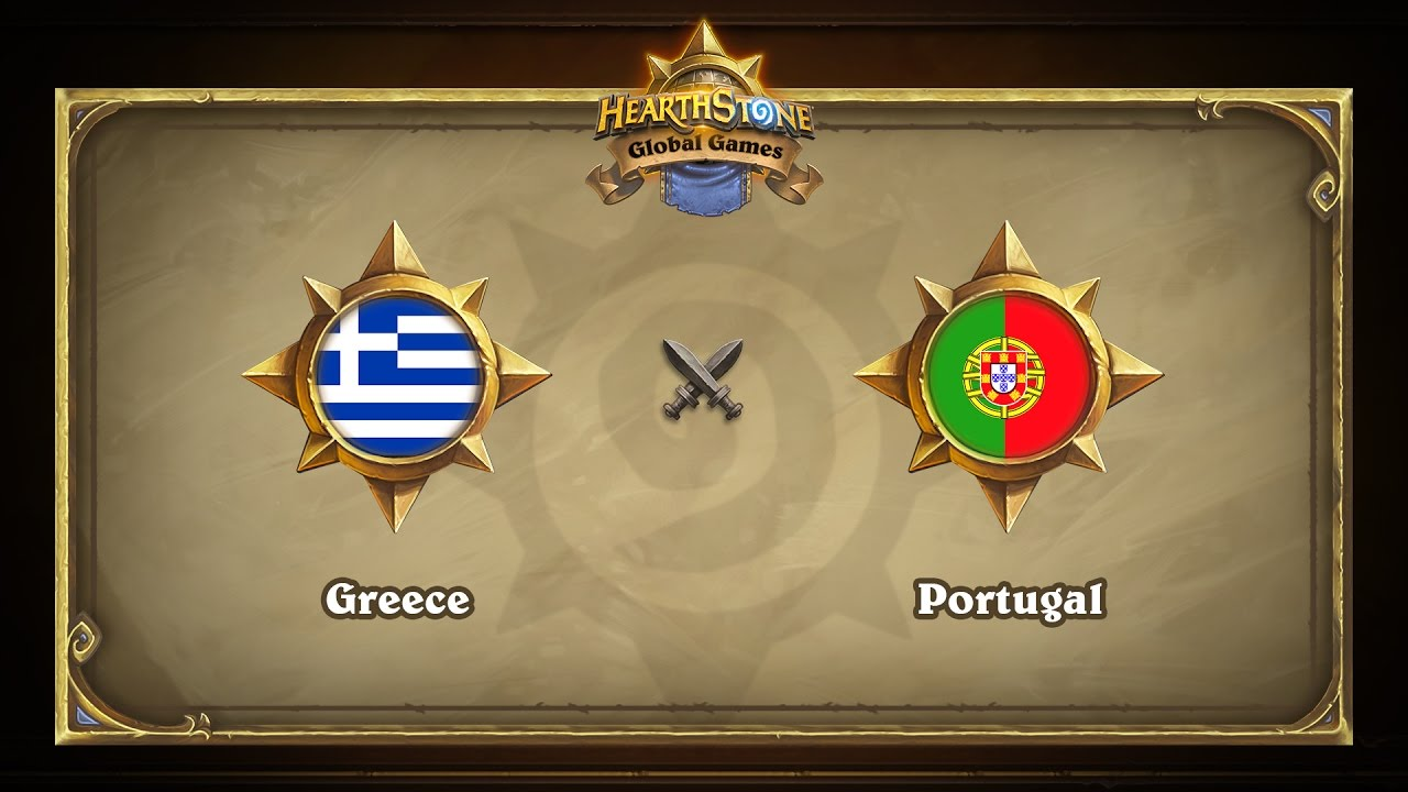 Greece vs Portugal | Hearthstone Global Games