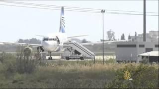 استمرار تداعيات اختطاف الطائرة المصرية إلى قبرص