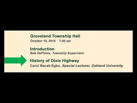 2016-10-19 History of Dixie Hwy - Full Length