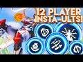 OVERWATCH 12 PLAYER FFA INSTA-ULTIMATES CUSTOM GAMEMODE!?