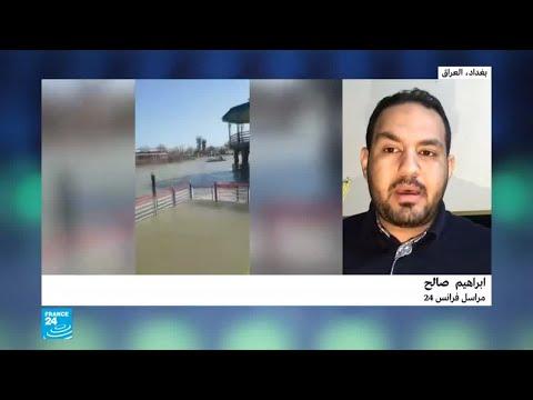 العراق: ارتفاع منسوب مياه نهر الدجلة والرياح عرقلا إنقاذ ضحايا غرق العبارة  - نشر قبل 2 ساعة