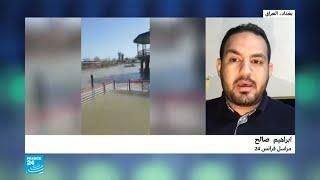 العراق: ارتفاع منسوب مياه نهر الدجلة والرياح عرقلا إنقاذ ضحايا غرق العبارة