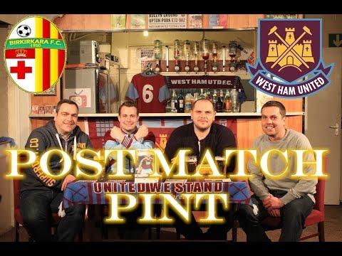 Post Match Pint Europe! Birkakara 2nd Leg