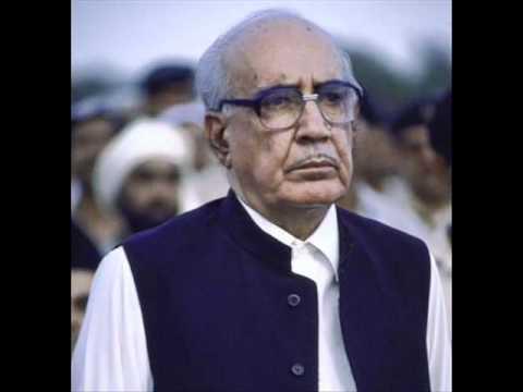 Ghulam Ishaq Khan address's to the nation on dissolving the Benazir's govt(6-8-1990)Part 1.wmv.wmv
