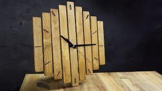 Деревянные часы. DIY wood wall clock