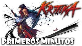 Kritica Online Gameplay Español | Primeros Minutos Warrior y Mage | MMO Free Anime