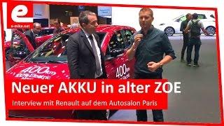 40 kWh Akku für alte Zoe im Tausch | Batteriemiete  Renault Zoe | e-mike.net