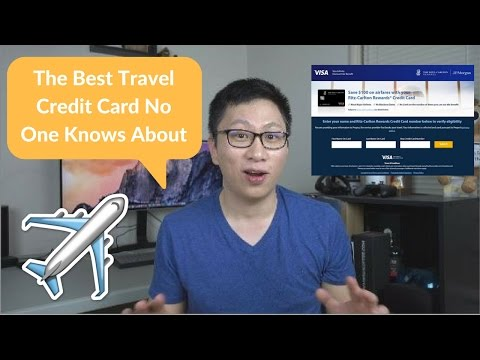The best travel credit card that no one knows about (for couples / travel buddies)