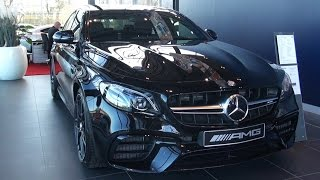2017 Mercedes AMG E63 S 4MATIC+ Full Review Start Up New Interior Exterior Infotainment