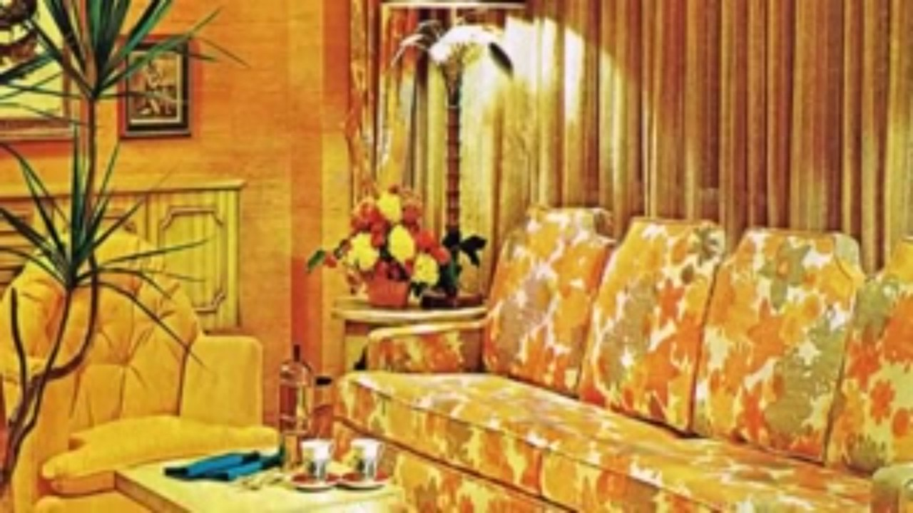 70s style decor interior design 70s house 10014