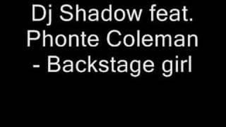Dj Shadow feat. Photne Coleman