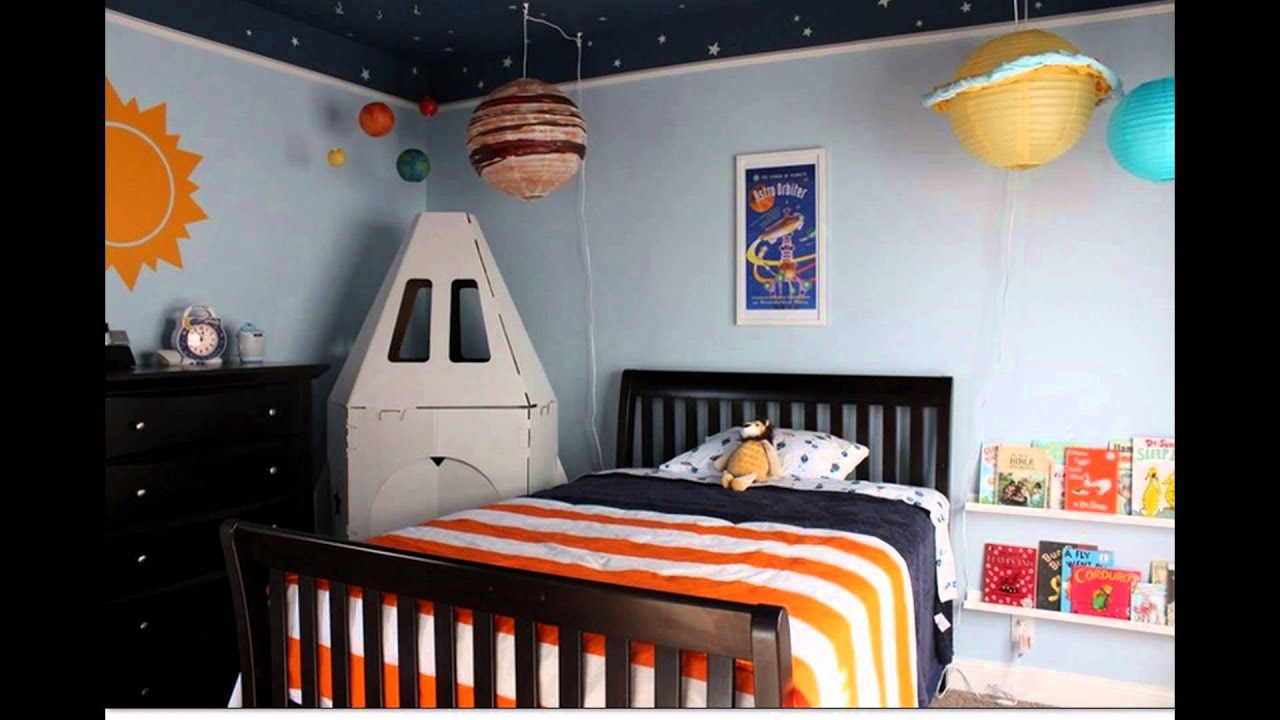 Outer Space Bedroom Decor Ideas for Boys  YouTube