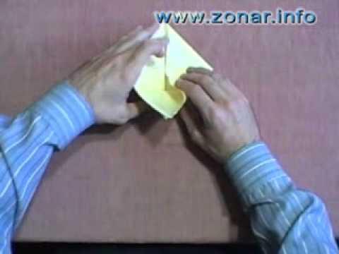 Оригами - Летающий журавлик