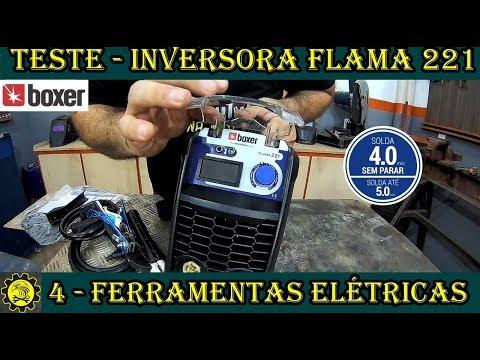 Ferramentas Elétricas  Inversora FLAMA 221 da BOXER