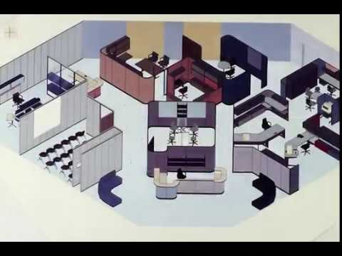 The Action Office: The Secret History of the Cubicle - YouTube