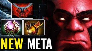 Octarine for AXE Magic Meta - WTF NEW Magic Hero was Born!! Dota 2 gameplay