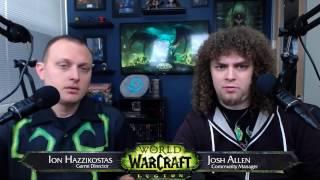 Live Developer Q&A with Ion Hazzikostas- 2/23