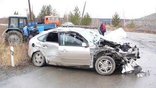 ДТП Форд фокус подборка аварий