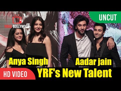 UNCUT - YRF's New Talents Launched By Ranbir And Anushka | Aadar Jain And Anya Singh