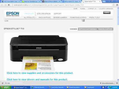 Epson T13 Driver
