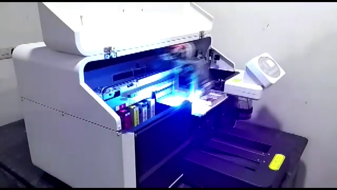 67e18b835 a4 UV Printer - Mini UV Printer Price In India +91-88721-88721 - YouTube