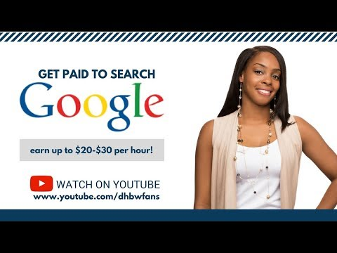 Get Paid To Search Google: Earn $20-$30 Per Hour!