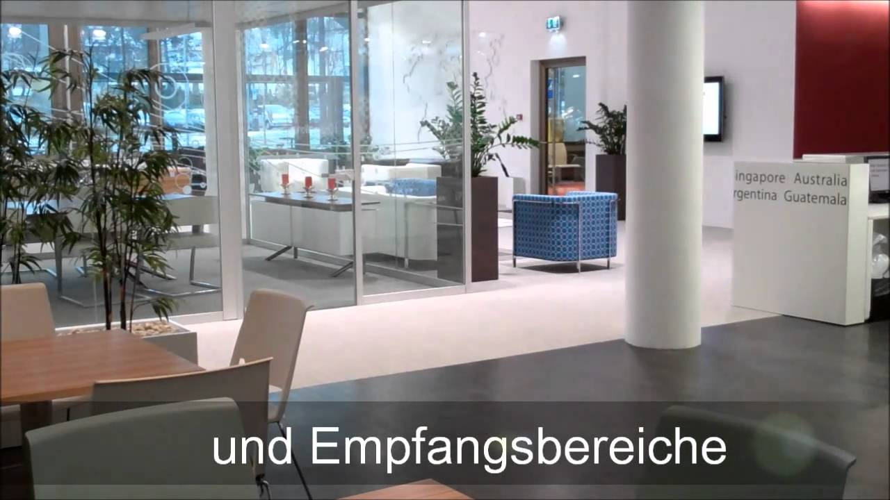 Haworth Showroom Zürich, Büromöbel-Hersteller - YouTube