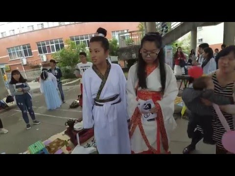 Old time Han Chinese traditional clothing
