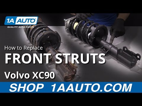 How to Replace Front Struts 02-14 Volvo XC90