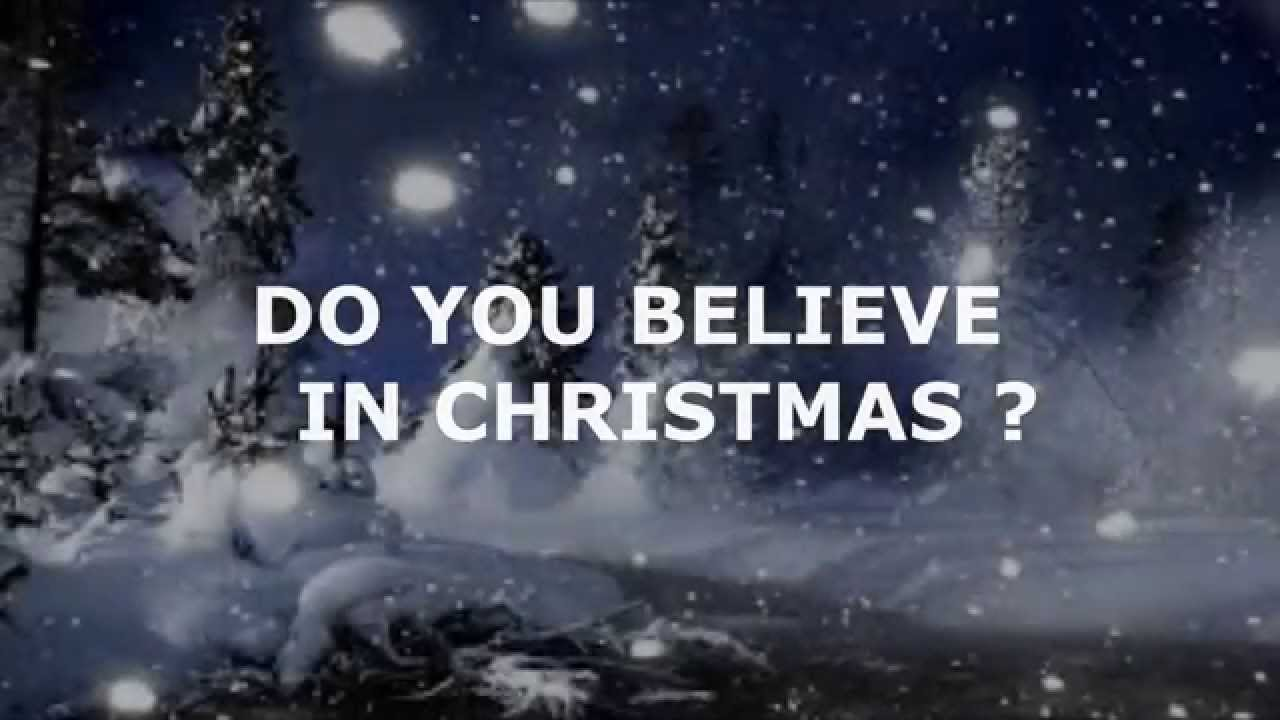 I Believe In Christmas.Swagmusic Do You Believe In Christmas
