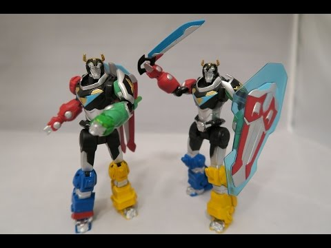 Voltron Sword & Lion Attack Figures Review (Voltron ...