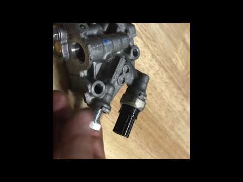 Oil pressure transducer keeping