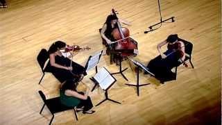 Barber String Quartet - II. Molto adagio - III. Molto Allegro (come prima).mov