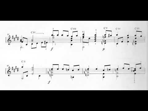 Gentil Montaña - Suite Colombiana No. 2: II. Guabina Viajera (Score video)
