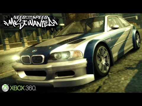Need For Speed Most Wanted Gameplay Xbox 360 Release Date 2005
