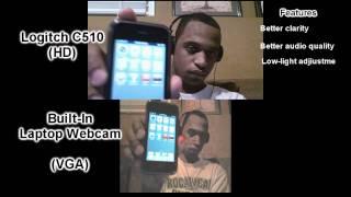 Logitech C510 vs Leneovo Built-In Webcam