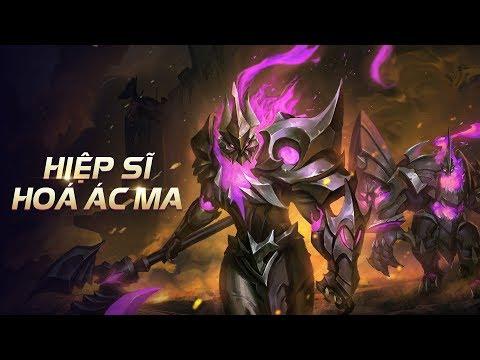 Cốt truyện | Arduin Tà Linh Hiệp Sĩ - Hiệp sĩ hóa ác ma - Garena Liên Quân Mobile