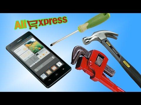 Замена дисплея и передней рамки на Huawei G700