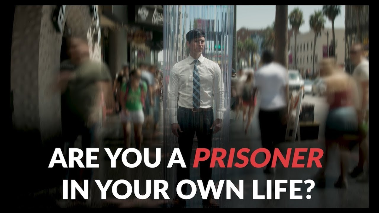 How to find deeper connection and stop being a prisoner in your own life ?